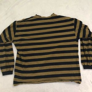 Vintage Guess Striped Long Sleeve Turtleneck rare